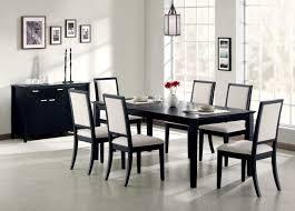 modern black table modern black dining table