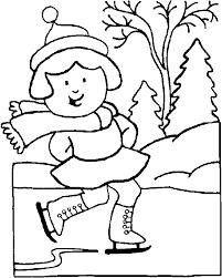 boy snow cap coloring coloring