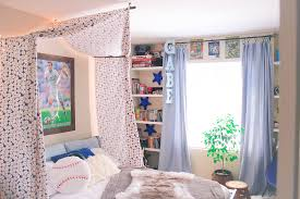 diy baseball bed canopy the craine u0027s nest