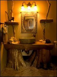 Rustic Bathroom Ideas - rustic bathroom designs christmas lights decoration