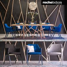 3d model roche bobois small furniture tenere stools vr ar