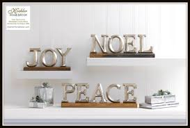 new at khd holiday block letter decor koehler home decor