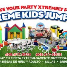 party rentals san jose xtreme kids jumpers party equipment rentals san jose ca