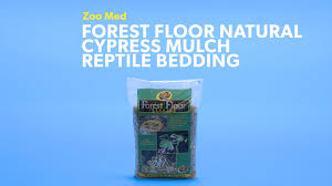 zoo med forest floor natural cypress mulch reptile bedding 24 qt