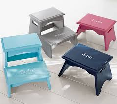 Personalized Step Stools Pottery Barn Kids - Bathroom step