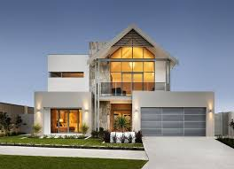 two story house blueprints modern story house designs storey house plans home