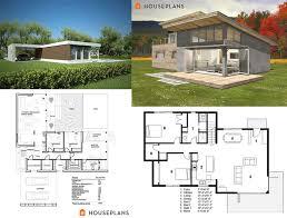 small modern floor plans modern house plans images