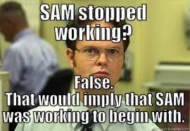 Sam Meme - sam sucks quickmeme