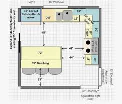 Kitchen Floor Plan Kitchen Design Floor Plans Developing A Functional 13 Lovely 12 12