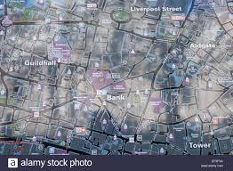 Map Of London England by England London Street Map Of The City Of London Showing Bank Of