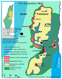 Map Of Israel And Middle East by Maps Informed Comment