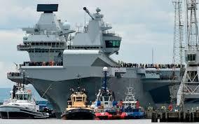 Queen Elizabeth Shooting Russia U0027jealous U0027 Of Navy U0027s New 3bn Warship As Hms Queen