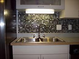kitchen with backsplash idea travertine tile countertop island