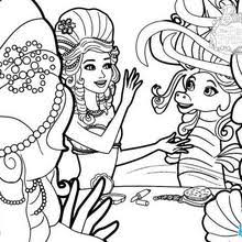 lumina receives royal invitation coloring pages hellokids