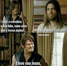 The Walking Dead Meme - the walking dead jesus brings new memes