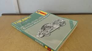 triumph tr250 u0026 6 1967 1976 owners work manual haynes classic