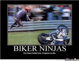 Biker Meme - biker ninjas by grandthefteverything meme center