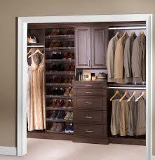 bedroom custom built closet organizers built in closet storage