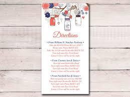 Wedding Inserts Mer Enn 25 Bra Ideer Om Wedding Direction Cards På Pinterest