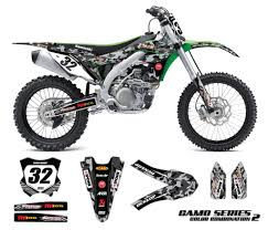 motocross racing numbers kawasaki motocross graphics kit camo omx graphics