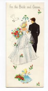 wedding wishes hallmark vintage hallmark wedding greeting card groom flower girl