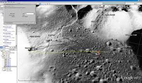 Moon Flag From Earth Googlemoonapollo175mileson Jpg