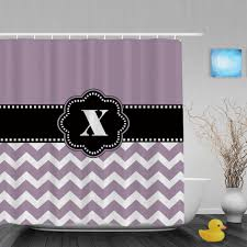 popular purple striped shower curtain buy cheap purple striped