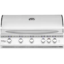 summerset sizzler pro 40 inch 5 burner built in natural gas grill