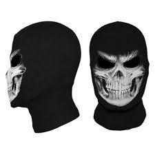 fangs grim mask grim reaper ghost skull cosplay costume balaclava