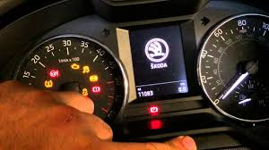 skoda octavia how to service light reset youtube