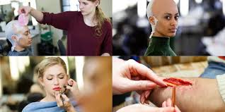 special effects makeup for beginners special effects makeup for and tv london college of fashion