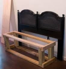 How To Make Your Own Headboard And Footboard 25 Headboard Benches How To Make Your Own Headboard Benches