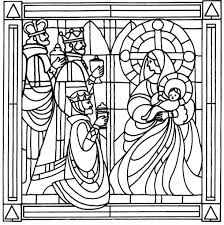 awe inspiring stained glass coloring pages for adults fanciful