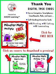 free math monster multiplication free core 3 4 math tpt