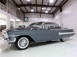 1960 chevrolet impala for sale on classiccars com 30 available