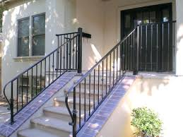 exotic stair railing kits interior fusion wrought iron interior