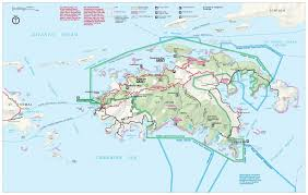 map vi about vi national park cinnamon bay