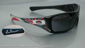 Flag Sunglasses The 1st U0026 Original Custom Colored Hawaiian Style 3 Prong Spears