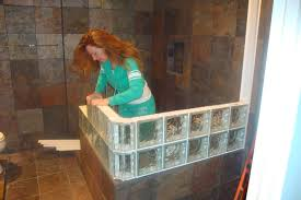 glass block bathroom designs awesome glass block shower designs on bathroom with shower design