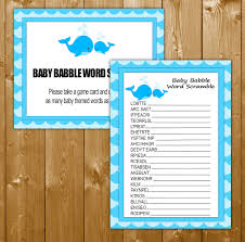 baby babble shower game images baby shower ideas