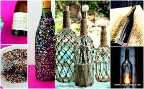 Diy Wine Bottle Decor by Wine Bottle Design Ideas Interior Design