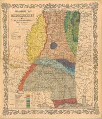 State Of Mississippi Map by Geological Map Of Mississippi 1855 Collection Historica U2026 Flickr