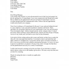 cover letter beautician cover letter beautician cover letter for