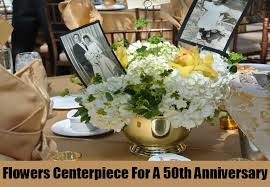 50th anniversary centerpieces centerpiece ideas for a 50th anniversary best 50th