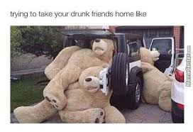 Meme Teddy Bear - and yes they do turn into big teddy bears when they re drunk by