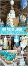 Blue And Gold Baby Shower Decorations by Best 20 Baptism Party Centerpieces Ideas On Pinterest