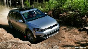 volkswagen alltrack offroad 2017 volkswagen golf alltrack first drive almost suv fills in