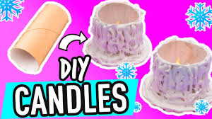 how to make christmas candle holders with toilet paper rolls
