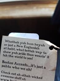 Boston Accent Memes - this tag on a shirt i bought in boston is written with a wicked