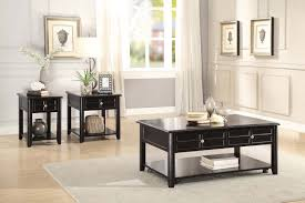 homelegance carrier cocktail coffee table set dark espresso